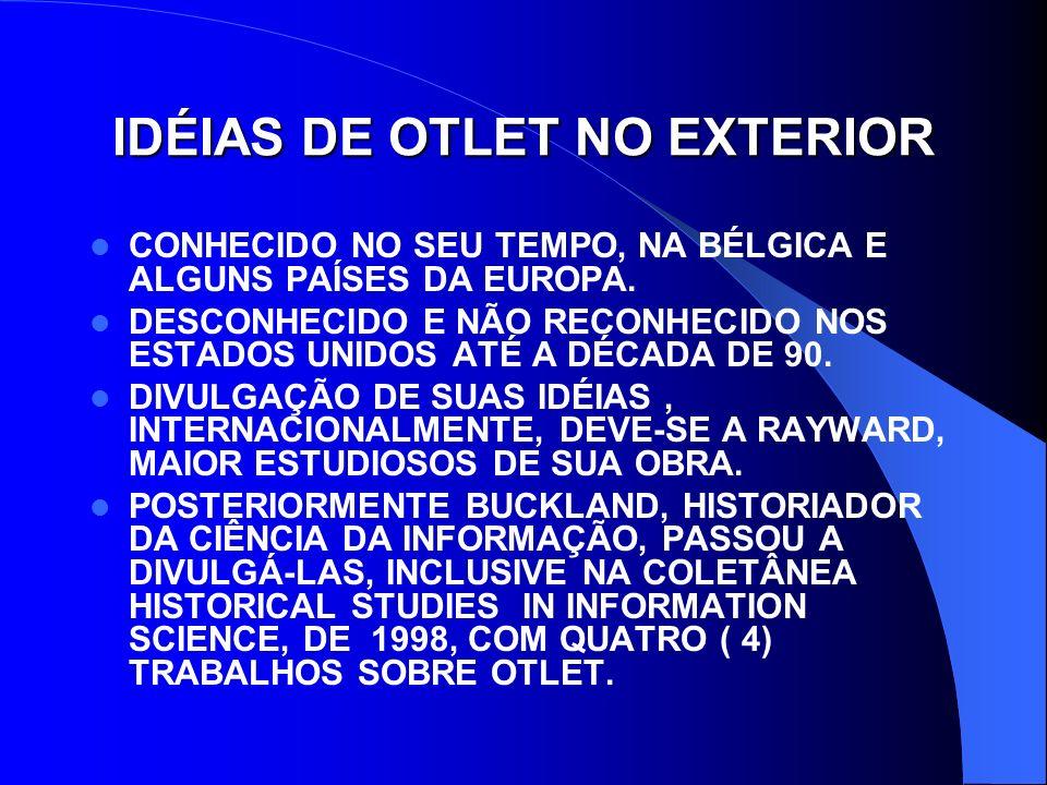 IDÉIAS DE OTLET NO EXTERIOR