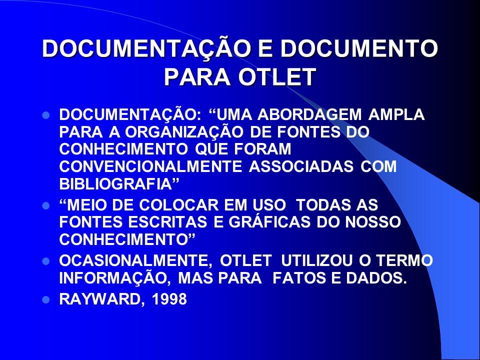 DOCUMENTAÇÃO E DOCUMENTO PARA OTLET