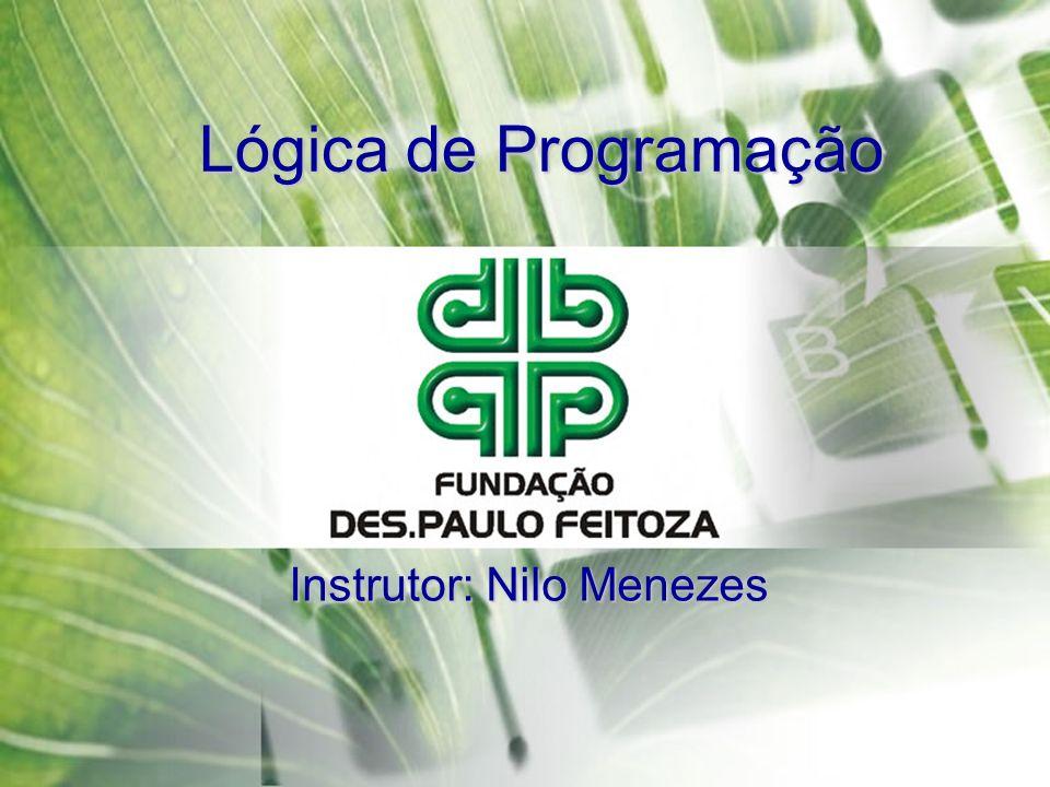 Instrutor: Nilo Menezes