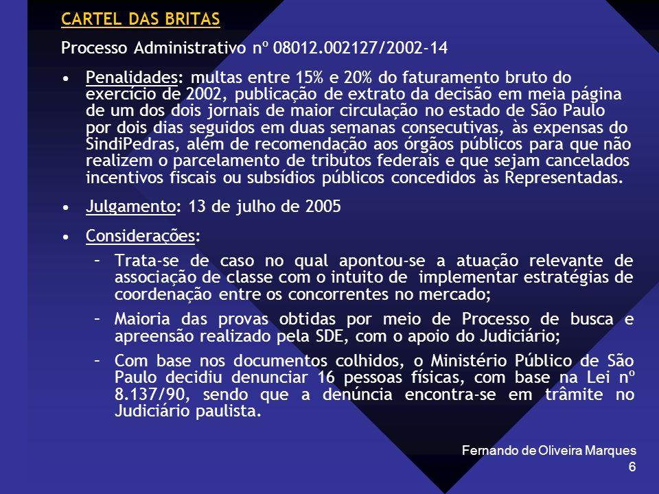 Processo Administrativo nº 08012.002127/2002-14
