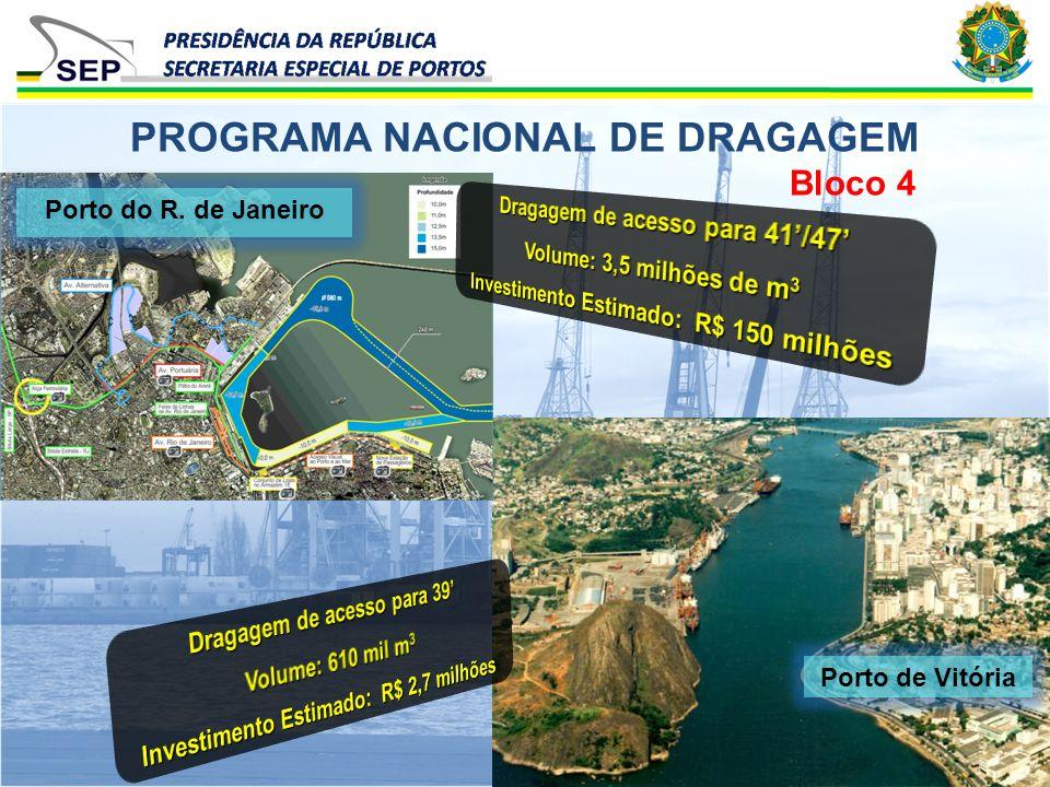 PROGRAMA NACIONAL DE DRAGAGEM
