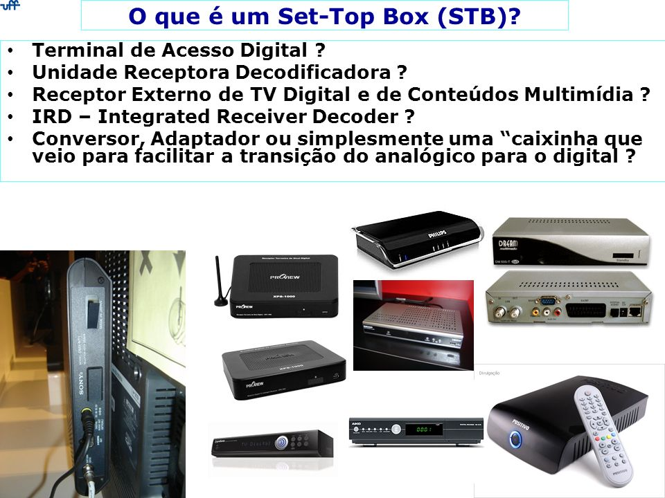 O que é um Set-Top Box (STB)
