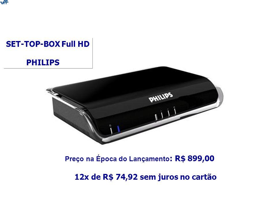Preço na Época do Lançamento: R$ 899,00