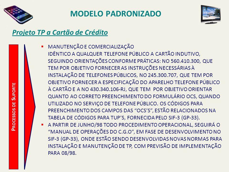 MODELO PADRONIZADO Projeto TP a Cartão de Crédito