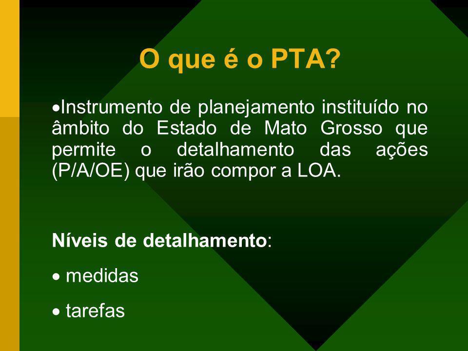 O que é o PTA