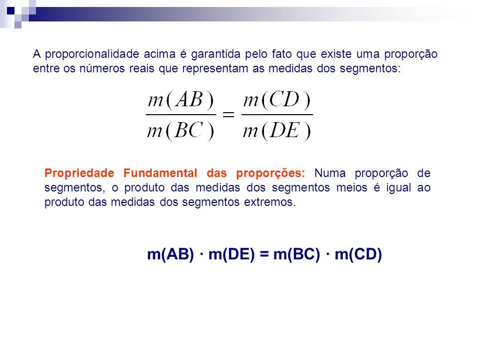 m(AB) · m(DE) = m(BC) · m(CD)