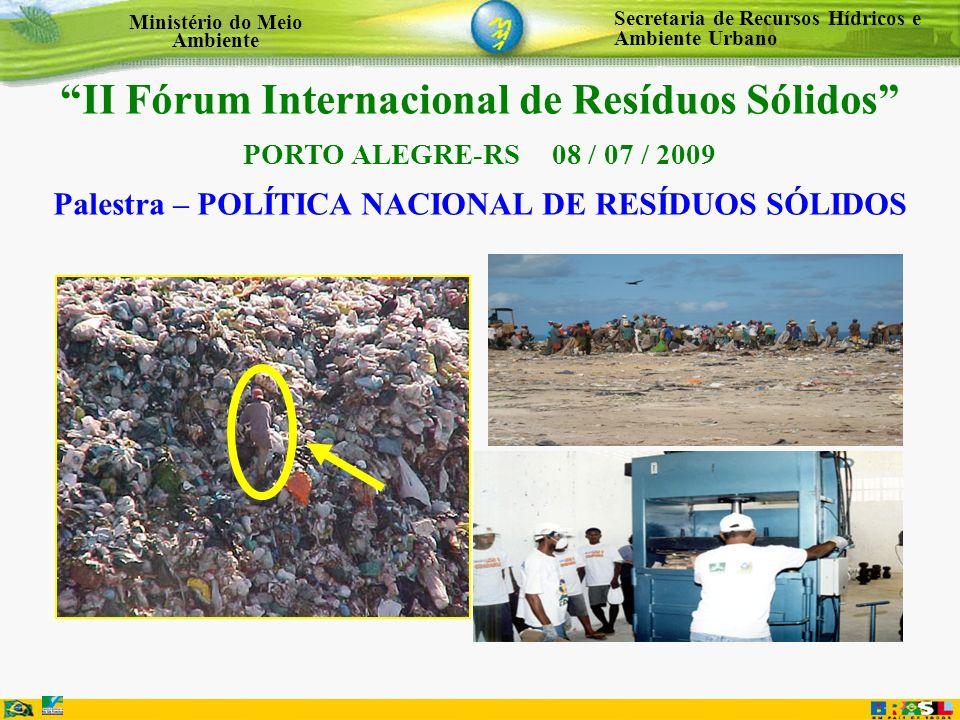 II Fórum Internacional de Resíduos Sólidos