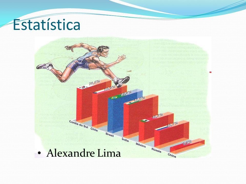 Estatística Alexandre Lima