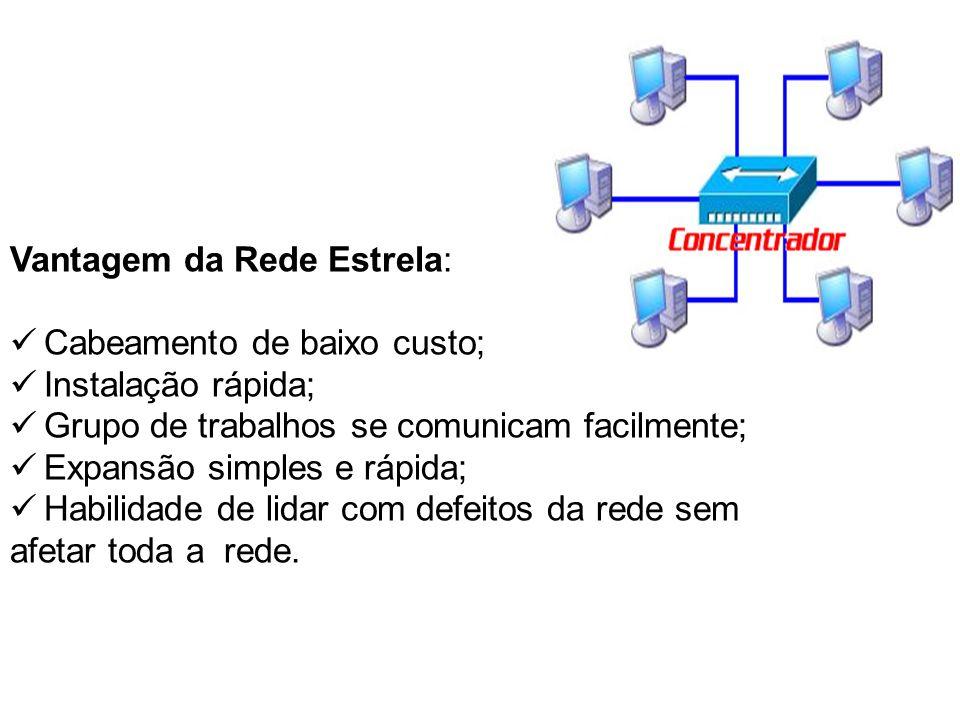 Vantagem da Rede Estrela: