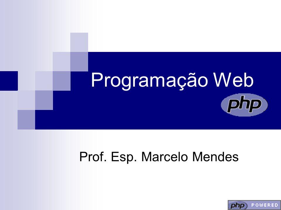Prof. Esp. Marcelo Mendes