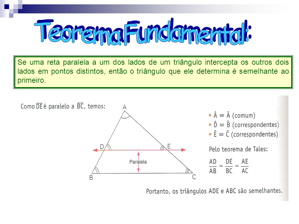 Teorema Fundamental: