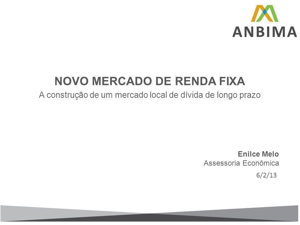NOVO MERCADO DE RENDA FIXA