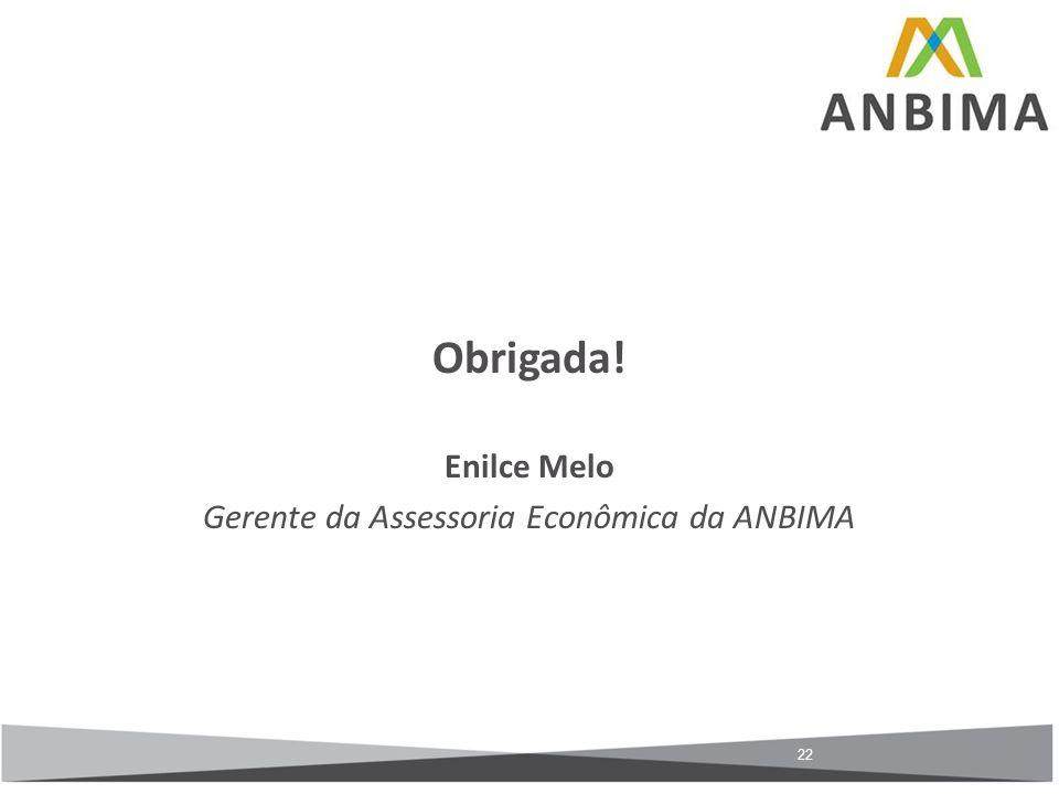 Gerente da Assessoria Econômica da ANBIMA