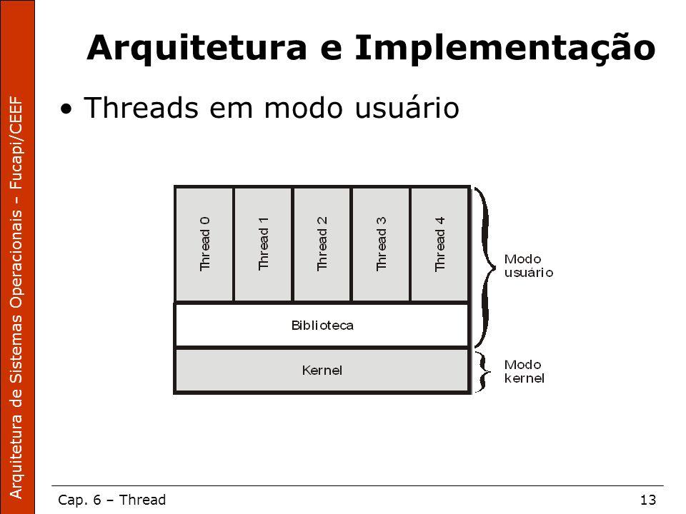 Arquitetura e Implementação