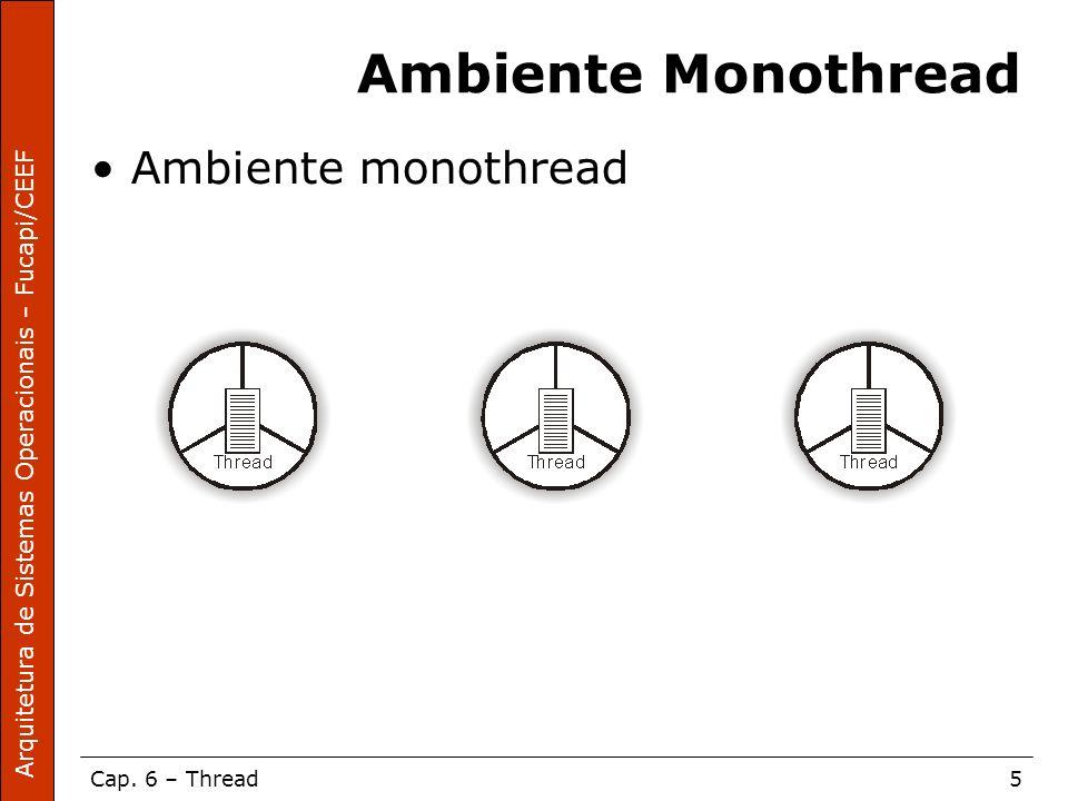 Ambiente Monothread Ambiente monothread
