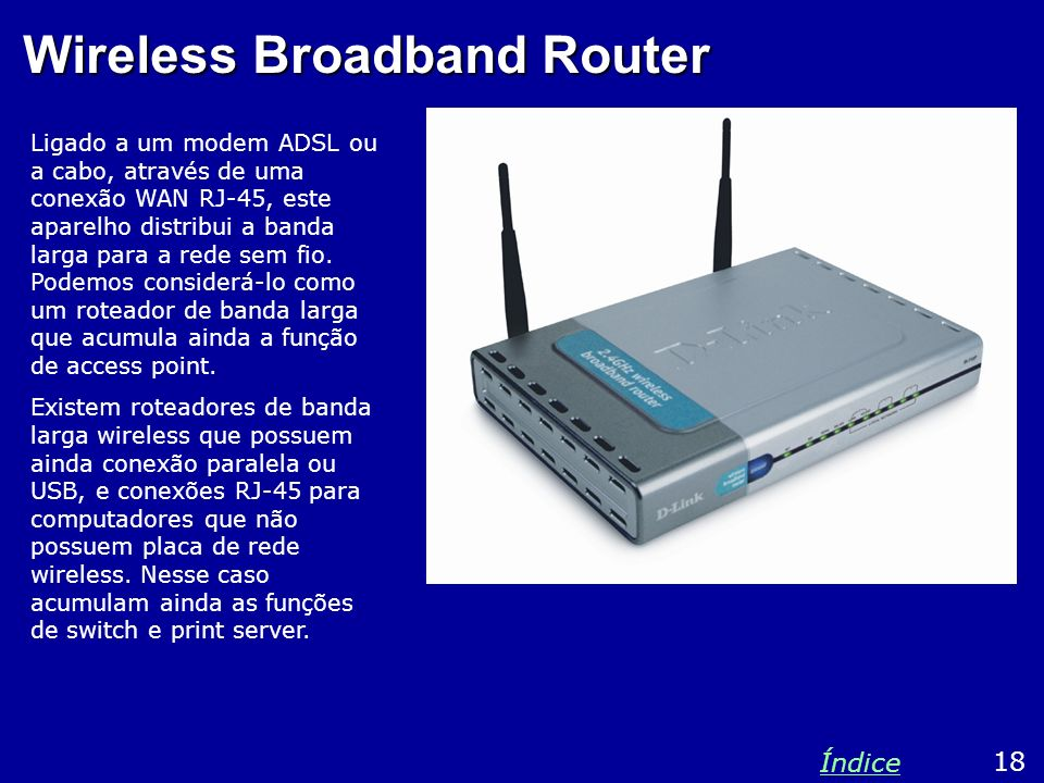 Wireless Broadband Router