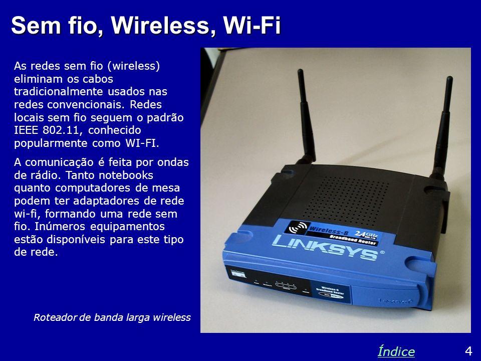 Sem fio, Wireless, Wi-Fi Índice 4