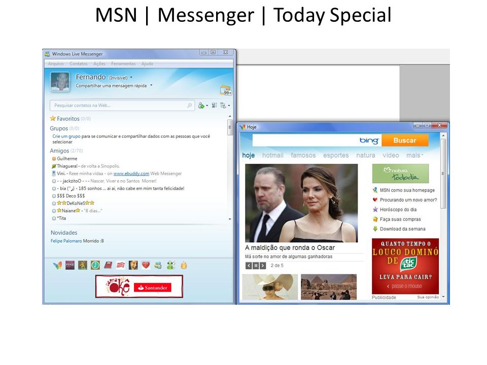 MSN | Messenger | Today Special