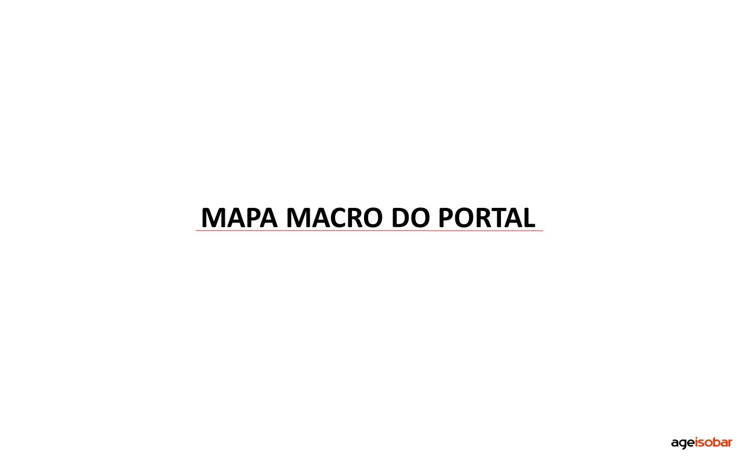 MAPA MACRO DO PORTAL