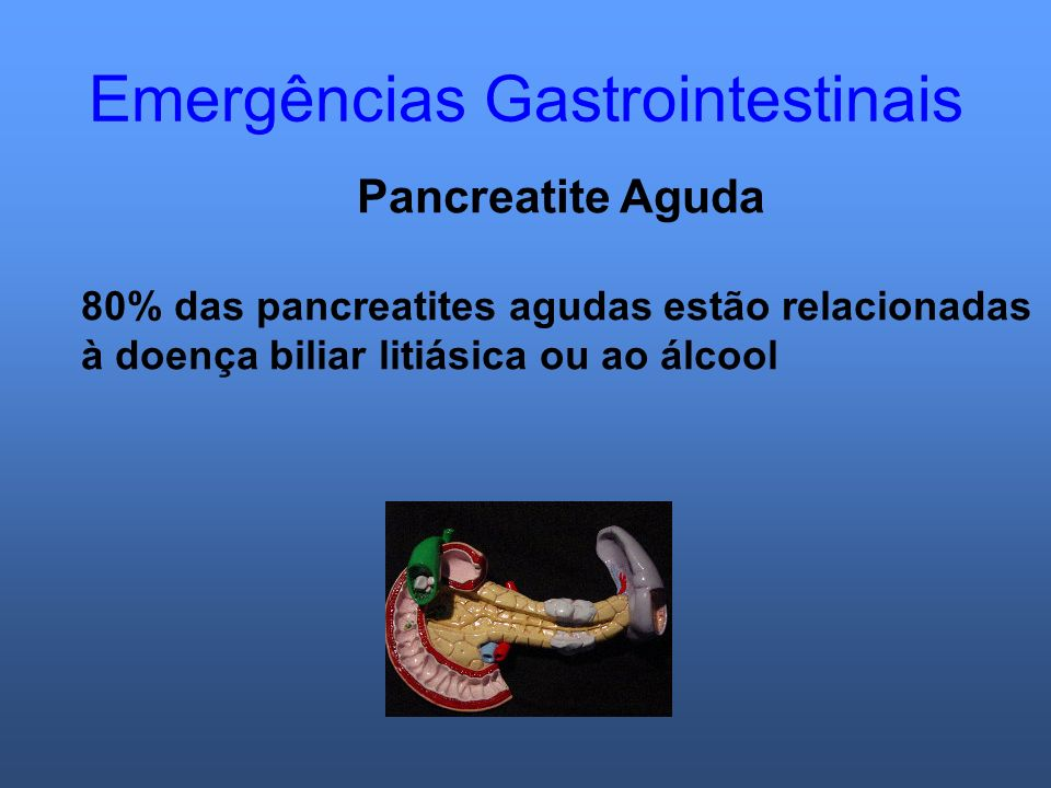 Emergências Gastrointestinais