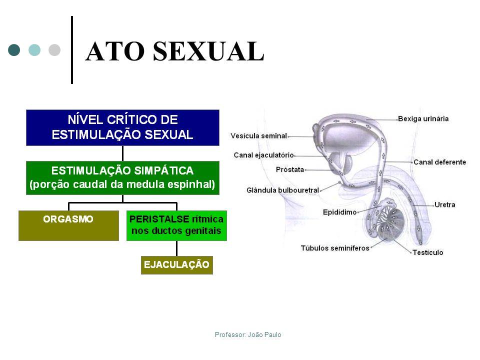 ATO SEXUAL Orgasmo e Ejaculação Professor: João Paulo