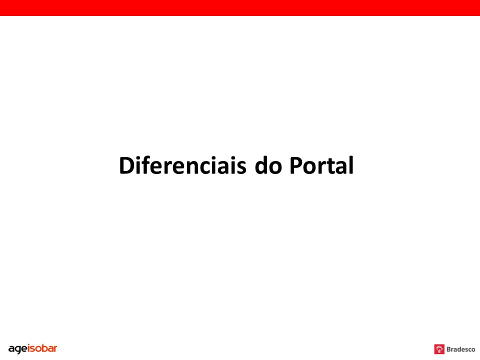 Diferenciais do Portal