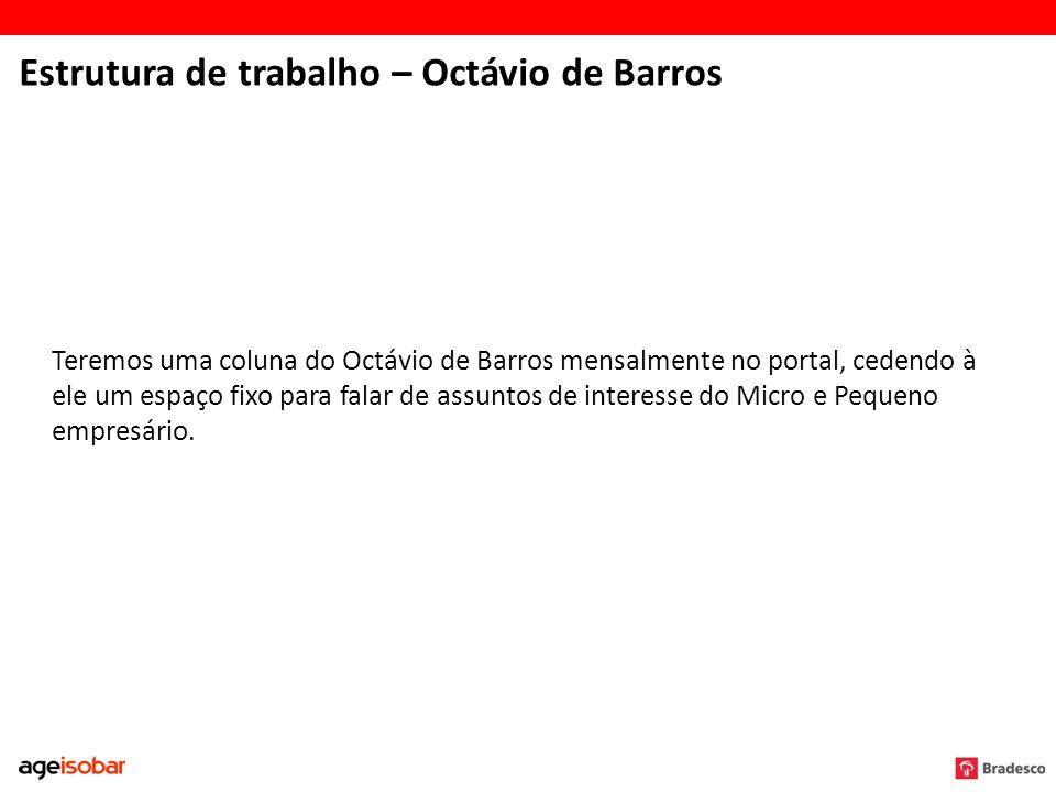 Estrutura de trabalho – Octávio de Barros