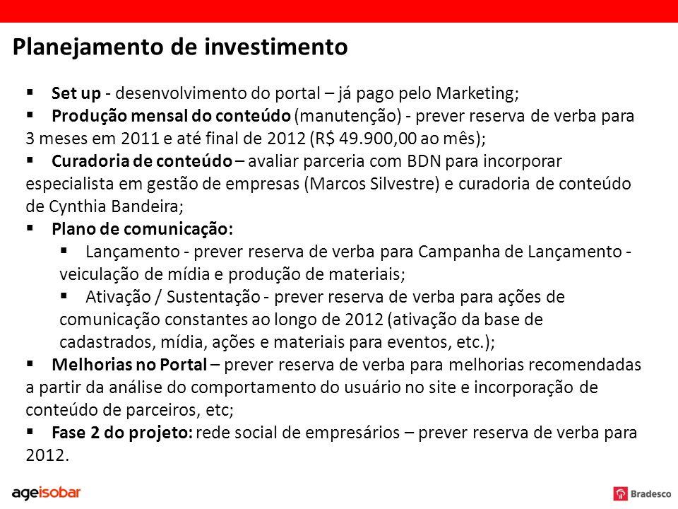 Planejamento de investimento