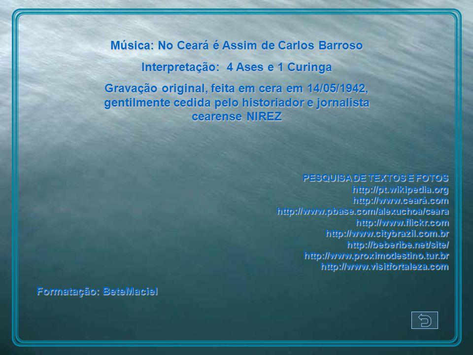 Música: No Ceará é Assim de Carlos Barroso
