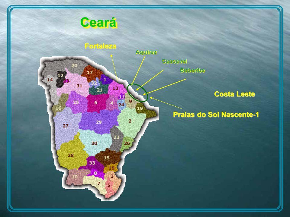 Ceará Fortaleza Costa Leste Praias do Sol Nascente-1 Aquiraz Cascavel