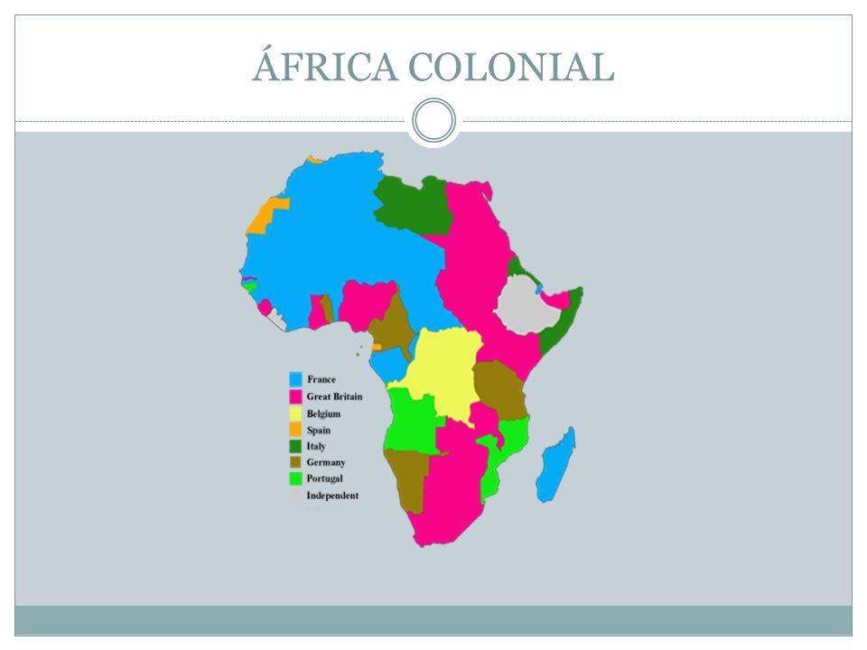 ÁFRICA COLONIAL