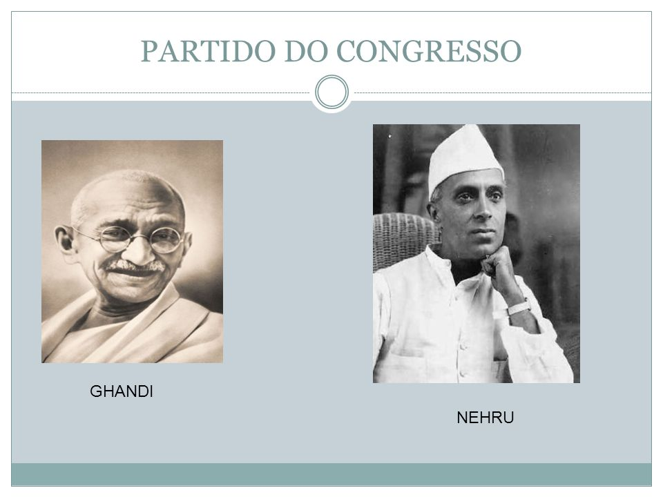 PARTIDO DO CONGRESSO GHANDI NEHRU