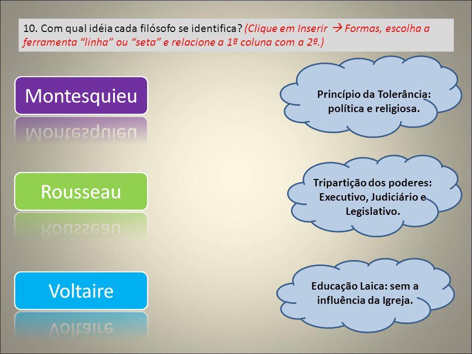 Princípio da Tolerância: política e religiosa.