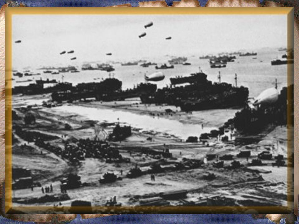 3.3 O DIA D - Desembarque aliado na Normandia:
