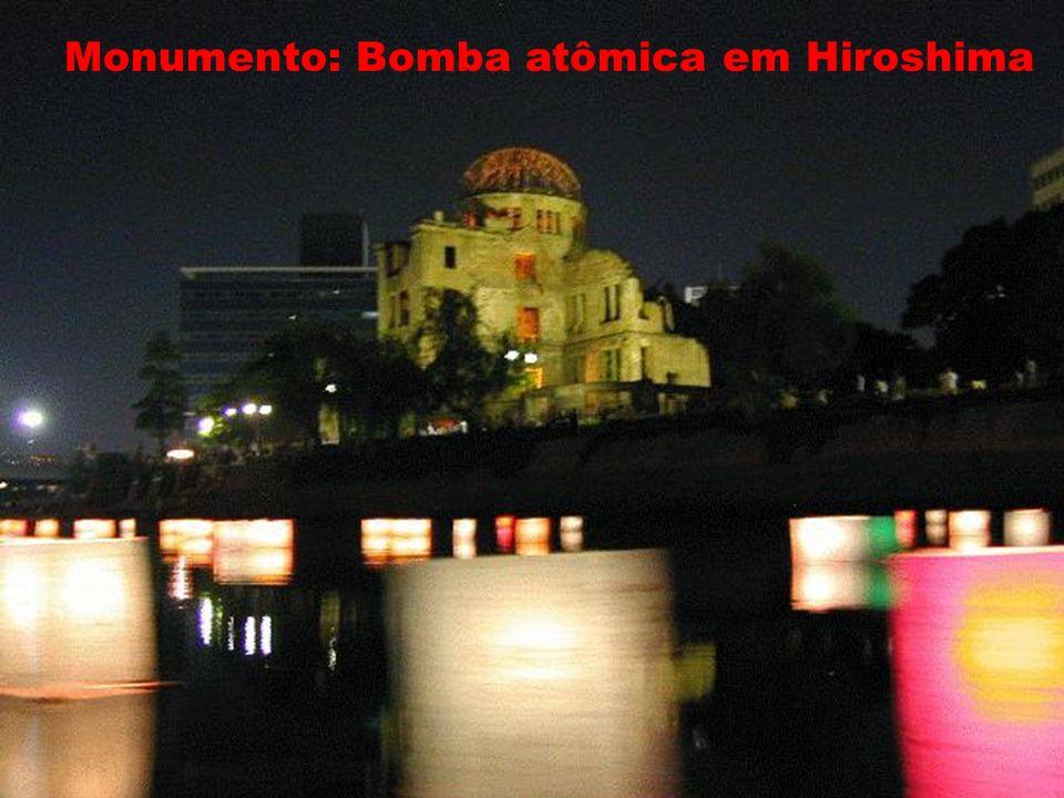 Monumento: Bomba atômica em Hiroshima