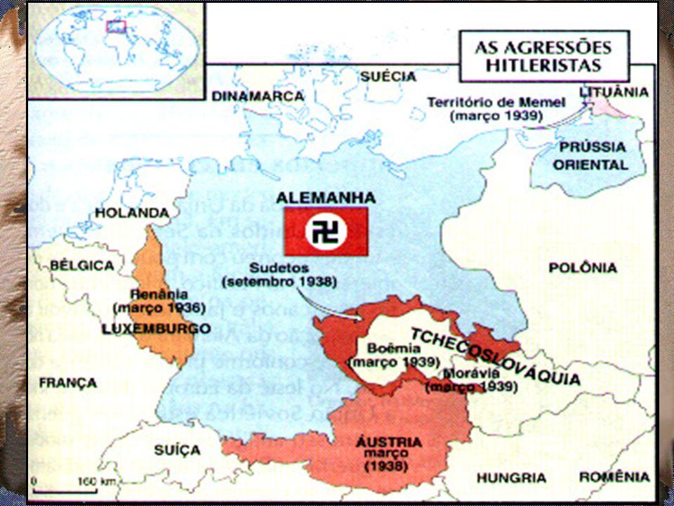 1.1 O expansionismo alemão (teoria do espaço vital)