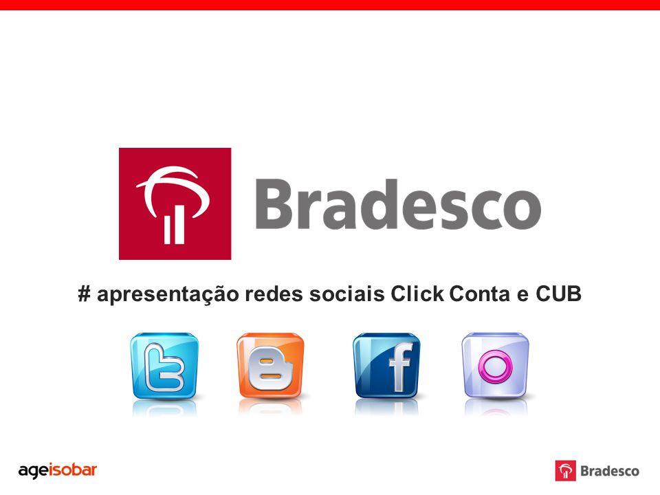 # apresentação redes sociais Click Conta e CUB