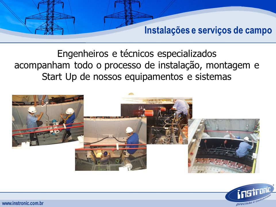 Instalações e serviços de campo
