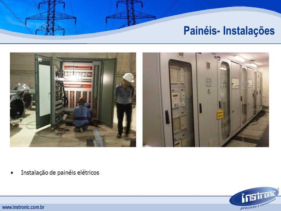Painéis- Instalações Instalação de painéis elétricos