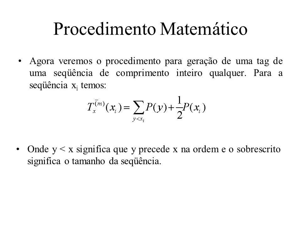 Procedimento Matemático