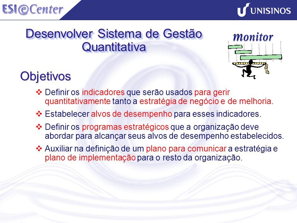 Desenvolver Sistema de Gestão Quantitativa