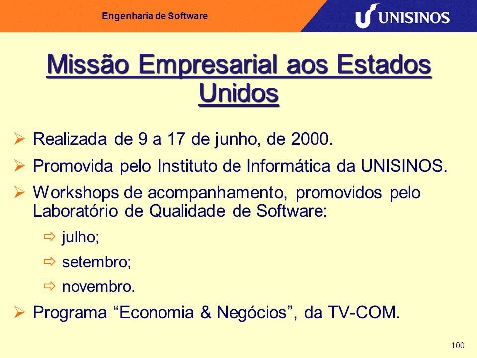 Missão Empresarial aos Estados Unidos