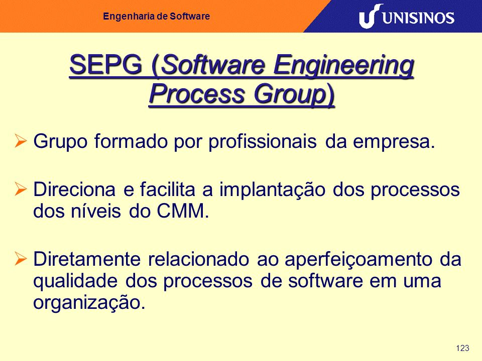 SEPG (Software Engineering Process Group)