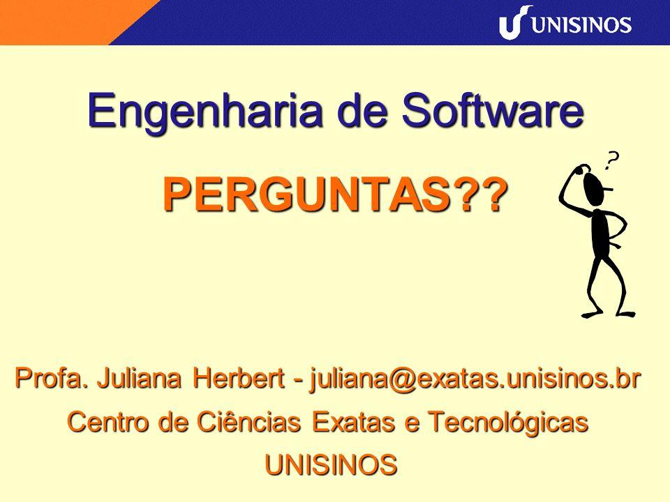 Engenharia de Software PERGUNTAS