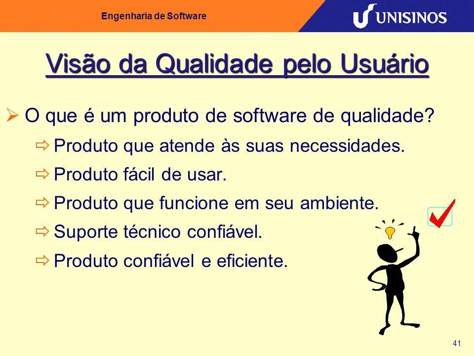 Visão da Qualidade pelo Usuário