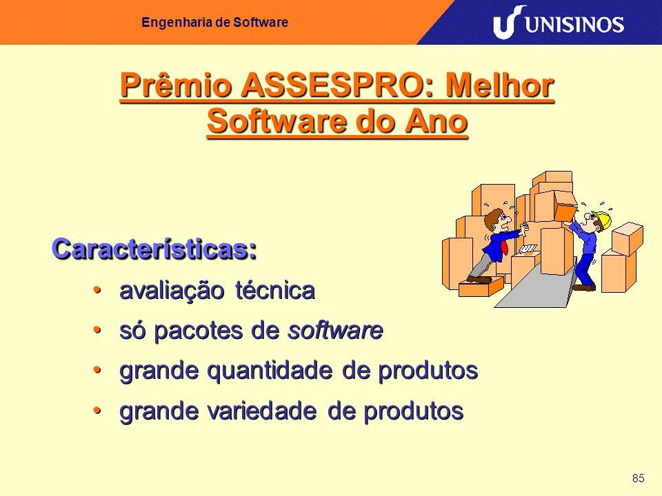 Prêmio ASSESPRO: Melhor Software do Ano