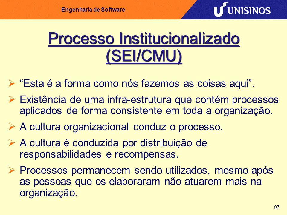 Processo Institucionalizado (SEI/CMU)