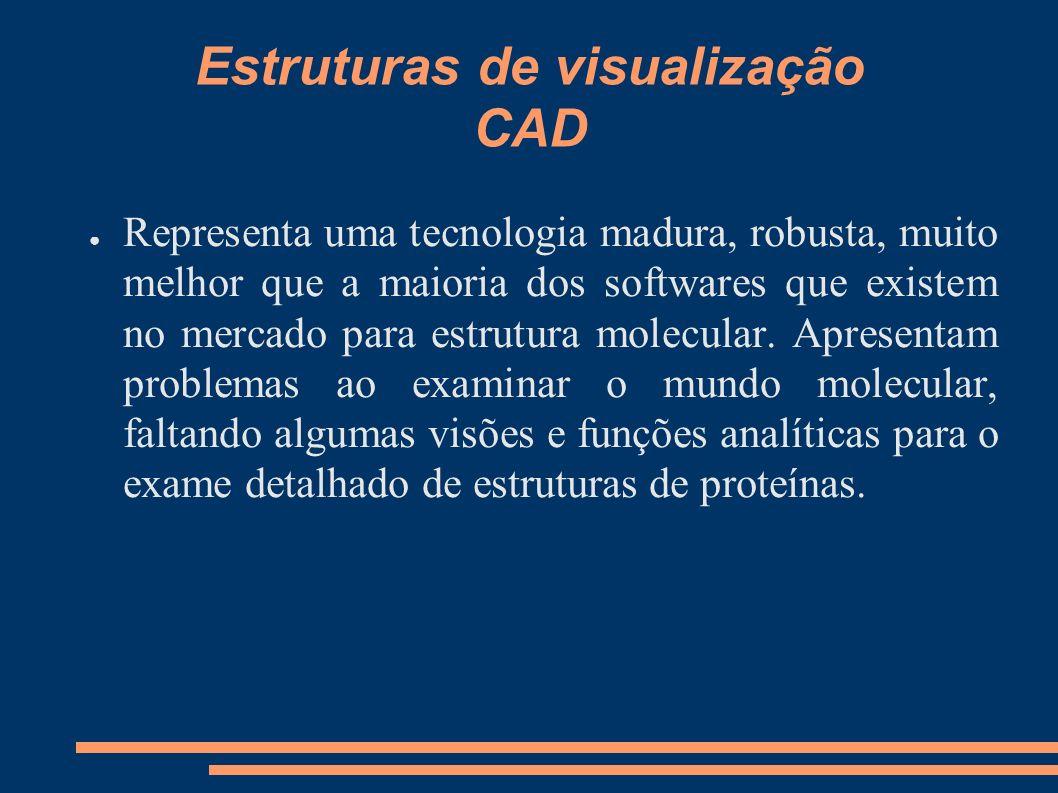 Estruturas de visualização CAD
