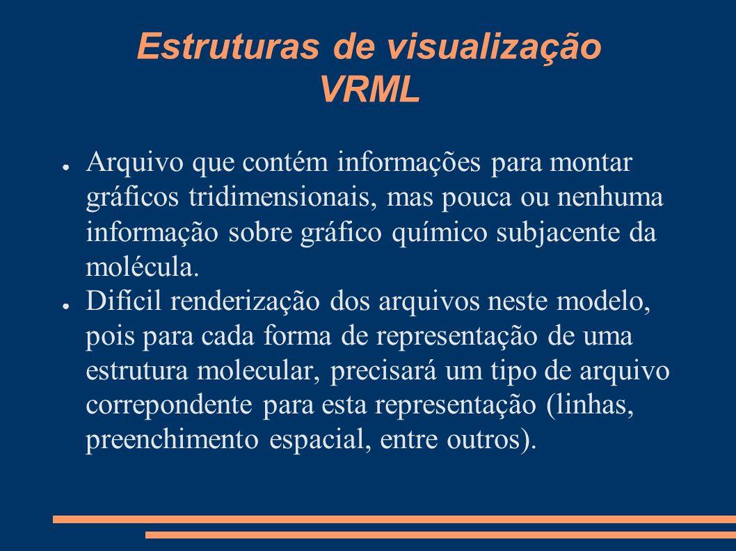 Estruturas de visualização VRML