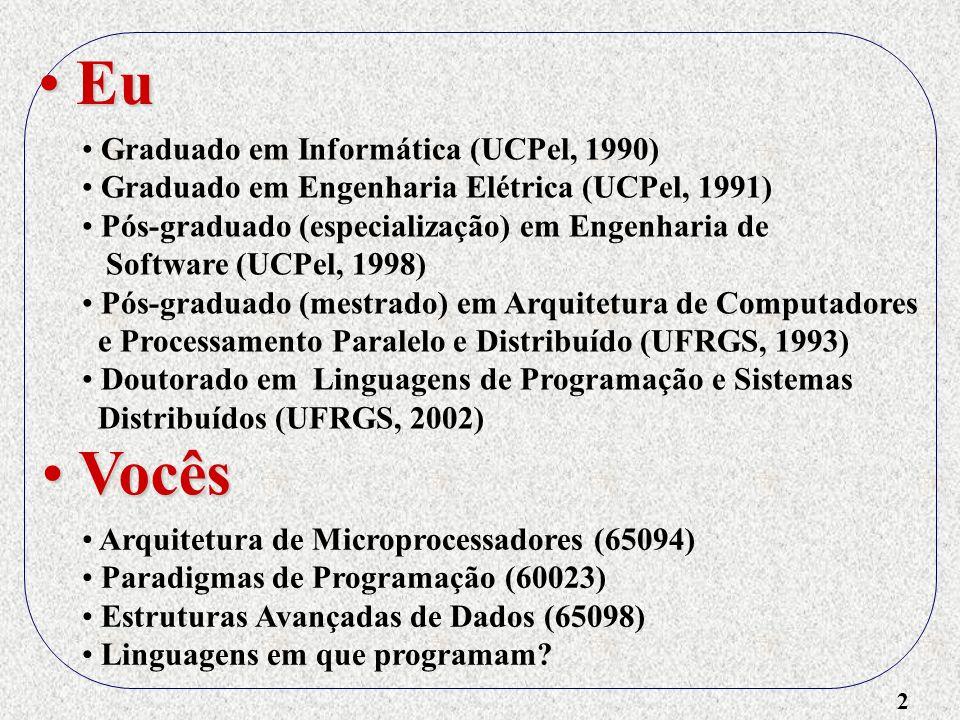Eu Vocês Graduado em Informática (UCPel, 1990)